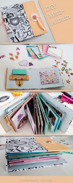DIY Mini-Album – das perfekte persönliche und individuelle Geschenk  – samycarroll