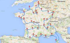 Wir haben die optimale Roadtrip-Tour für Frankreich entwickelt  – josefabre851