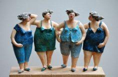 Keramikkunstobjekte Bildergalerie Skulpturen der Keramikerin Jeanne te Dorsthorst  – annehamon