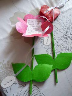 Blume zur Nachricht  – tascandaleuse