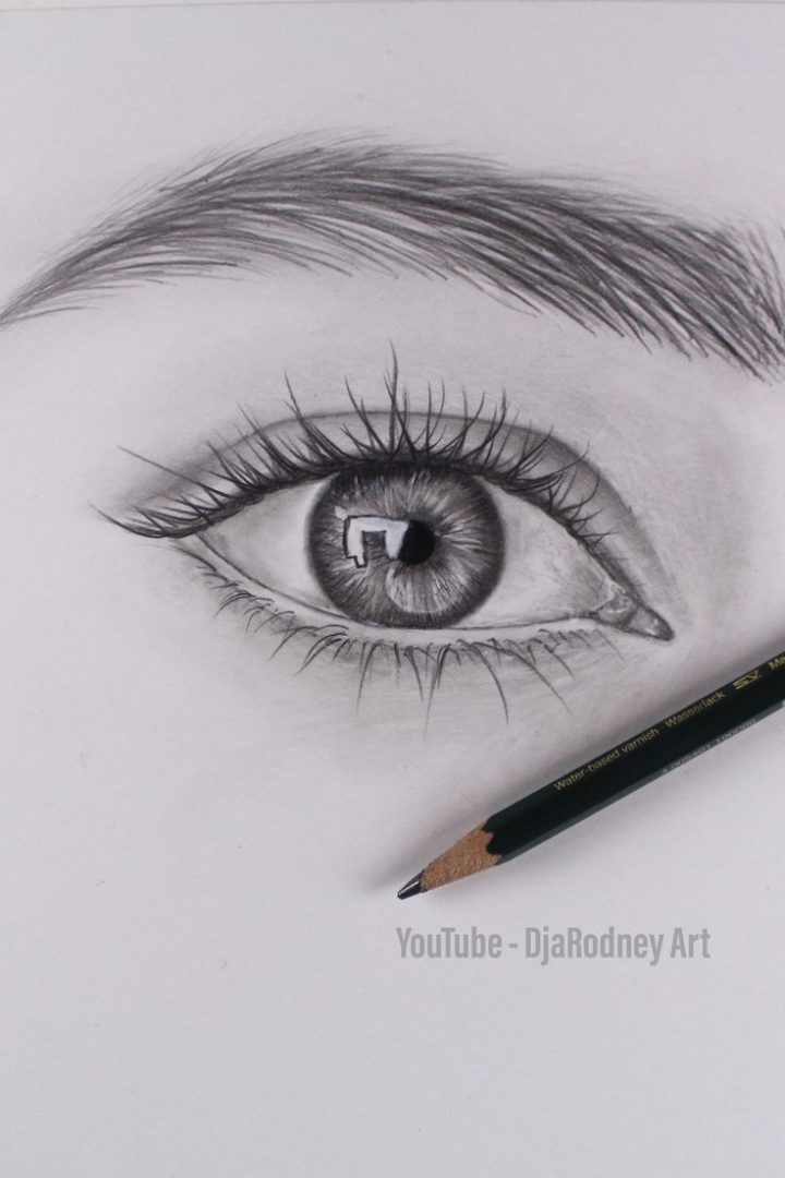 Wie Realistische Augen Zeichnen Schritt Fur Schritt Youtube